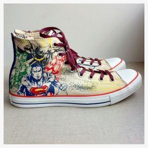 Converse Men US 11 EU 45 Justice League Sneakers